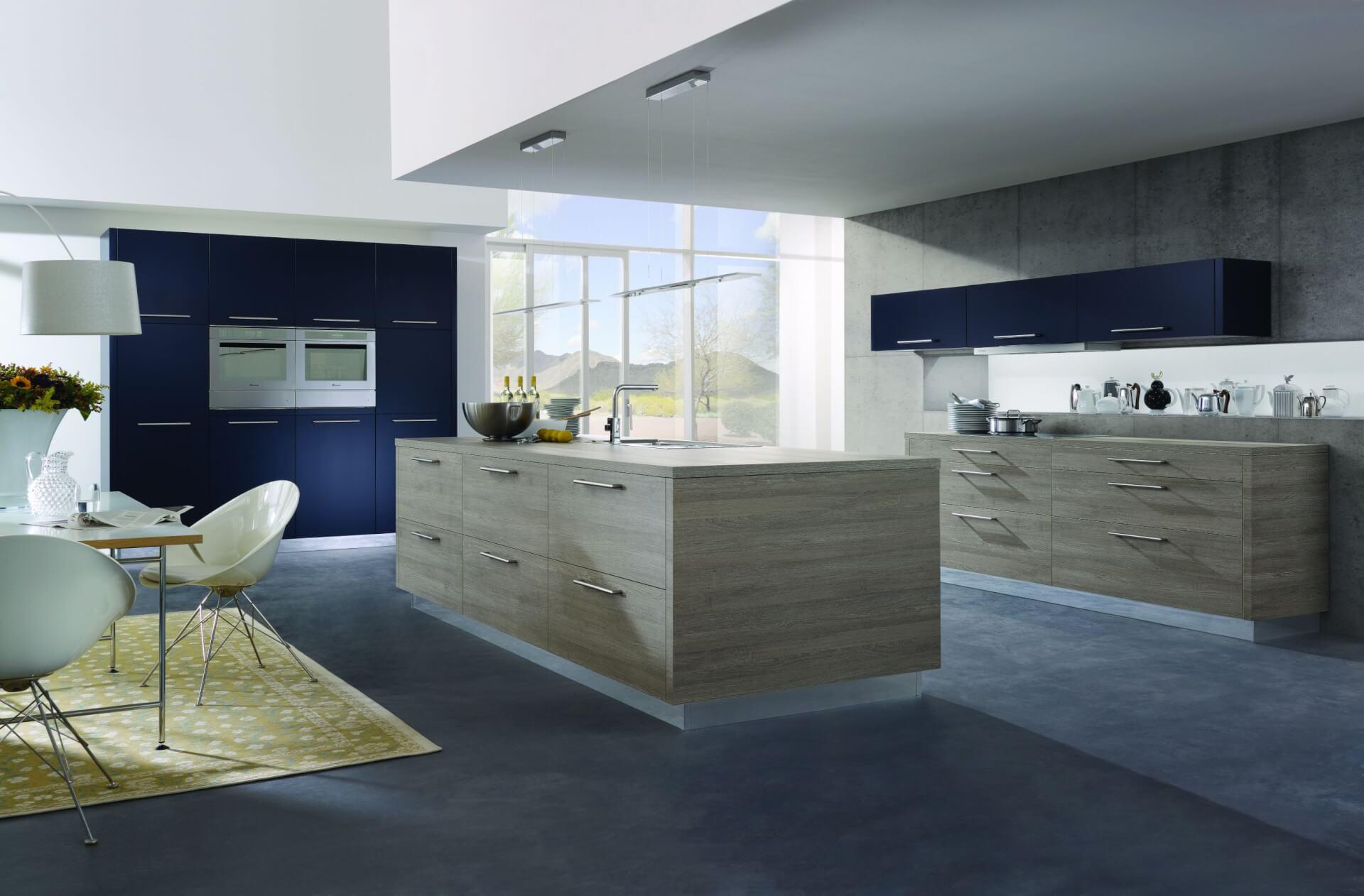Cool  Living Kitchen Decoration Alno Kitchen With Grey Floor Euro Kitchen Design Alno Cabinets  Modern Design Kitchen Cabinets Kitchen Design Modern German  ...