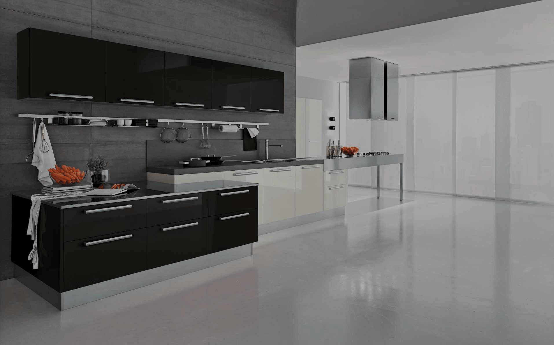Kitchen Luxurious Modern Designer One Wall Kitchen Images Modern Kitchen  Design